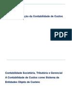 Tópico01 - Contextualização da contabilidade de custos