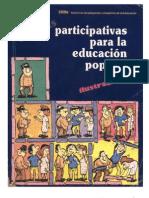 Tecnicas Participativas para la Educación Popular
