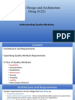 Chapter 2 -Understanding Quality Attributes