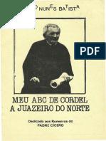 MEU ABC DE CORDEL A JUAZEIRO DO NORTE