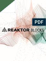 Reaktor Blocks Manual English 072220