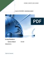 Term Report-strategic Managment