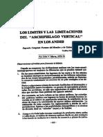 Murra- Los Limites y Las Limitaciones Del Archipielago Vertical (2)