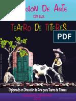 Diplomado en Direccion de Arte Para Teatro de Titeres Memorias y Ponencias Bogotiteres 2016 Web