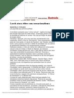 Folha de S.Paulo - Lasch ataca elites com sensacionalismo - 11:1:1995