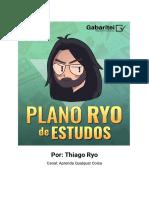 Plano de Estudo 2021 - Ryo