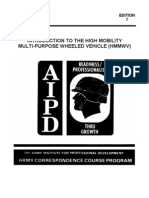 ARMY OD1615 Introduction to High Mobility Multi-Purpose Wheeled Vehicle (HMMWV)