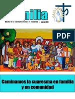 Boletín en FAMILIA Marzo 2021