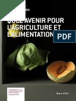 Fondapol Etude Quel Avenir Pour l'Agriculture Et l'Alimentation Bio Gil Kressmann 01-03-2021