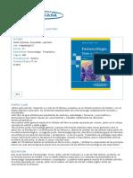 Heinz Lüllmann, Klaus Mohr, Lutz Hein FARMACOLOGÍA Texto y Atlas