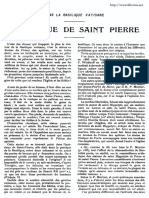 La statue de saint Pierre