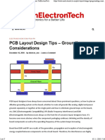 PCB Layout Design Tips - Grounding Considerations _ OnElectronTech