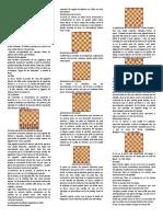 Las reglas del ajedrez