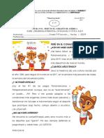 FICHA N°01 PERÚ EN EL CORAZÓN DE AMÉRICA
