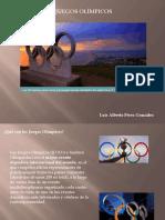 Luis Alberto PérezGonzález - juegos olimpicos