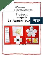 lapbook geografia_ nazioni europee_scheda
