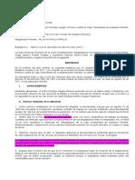 (1) T-938-11 FUERO DE FUNDADORES