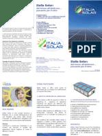 La brochure di Italia Solar