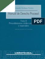 Manual de Derecho Procesal. Tomo 2 - Fernando Orellana Torres-1