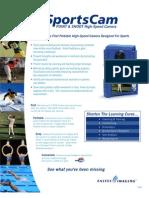 SportsCam Datasheet