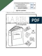 Taller de religión #2 pdf