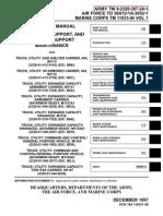 ARMY TM 9-2320-387-24-1 Mantainance UpArmor HumVee Vol 1 Jun09