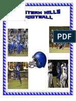 Eh Football Memo Book