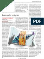 Charleworth_EvidenceForEvol