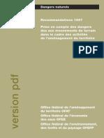 Mouvements-terrain_Recommendation 1997