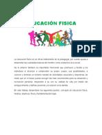 EDUCACION FISICA 1