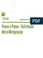 Coelba _ Passo a Passo Micro Minigeracao
