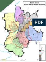 School Board Zone Map