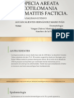 Alopecia Areata Tricotilomania Dermatitis Facticia
