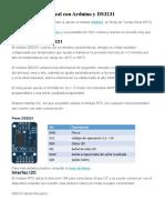 Reloj de Tiempo Real con Arduino y DS3231