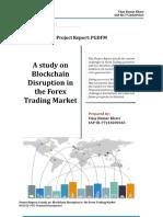 Blockchain Disruption in the Forex Trading Market