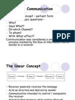 Communication Models and Elements of Communication
