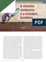 MICROCREDITO O MISTERIO NORDESTINO E O GRAMEEN BRASILEIRO