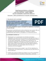 Guía de actividades y rúbrica de evaluación - Escenario 2 - Ética profesional en el mundo contemporáneo
