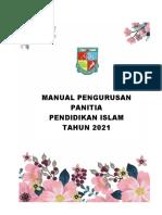 Manual Pengurusan Panitia Pendidikan Islam 2021