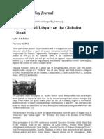 Post Qaddafi