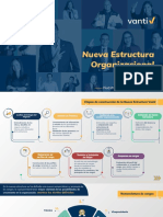 Comunicado Estructura General Vanti Julio 2020