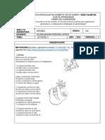 Guía de Az.5Español vocal i