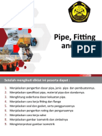 PIPE,FITTING AND VALVE