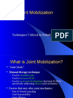 Joint Mobilization