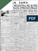 Our Town April 11, 1946
