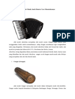 alat musik jambi dan cara memainkannya