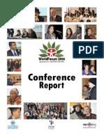 WORLD FORUM 2010 REPORT