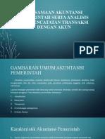 Persamaan Akuntansi Pemerintah Serta Analisis Dan Pencatatan Transaksi Akun