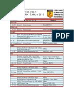 RANCANGAN AGENDA FORKI 2015 220315