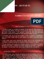 Apocalipsis Lecc. No. 30-  Sardis - 2020